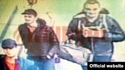 Изображение нападавших, запечатленное камерой видеонаблюдения.