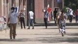 Яке аз кӯчаҳои Душанбе. 2-юми июни 2020