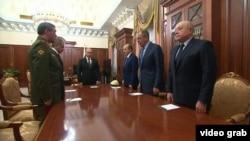 Ռուսաստան - Կրեմլում կայացած խորհրդակցության մասնակիցները, Մոսկվա, 16-ը նոյեմբերի, 2015թ․