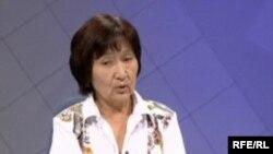 Veteran Kyrgyz human rights activist Aziza Abdrasulova