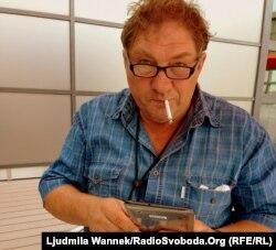 Олександр Ігнатуша після інтерв'ю на Радіо Свобода
