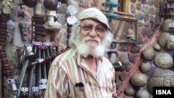 ناصر هوشمند وزیری، مجسمهساز و مدیر باغموزه وزیری