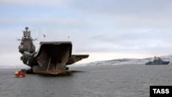 Російський авіаносний крейсер «Адмірал флоту Радянського Союзу Кузнєцов»