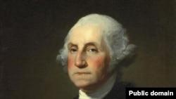 Një pikturë e presidentit Xhorxh Uashington