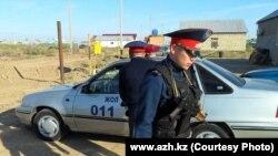 Атырау полициясы (Көрнекі сурет).