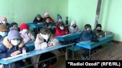 В одной из школ Таджикистана, архивное фото