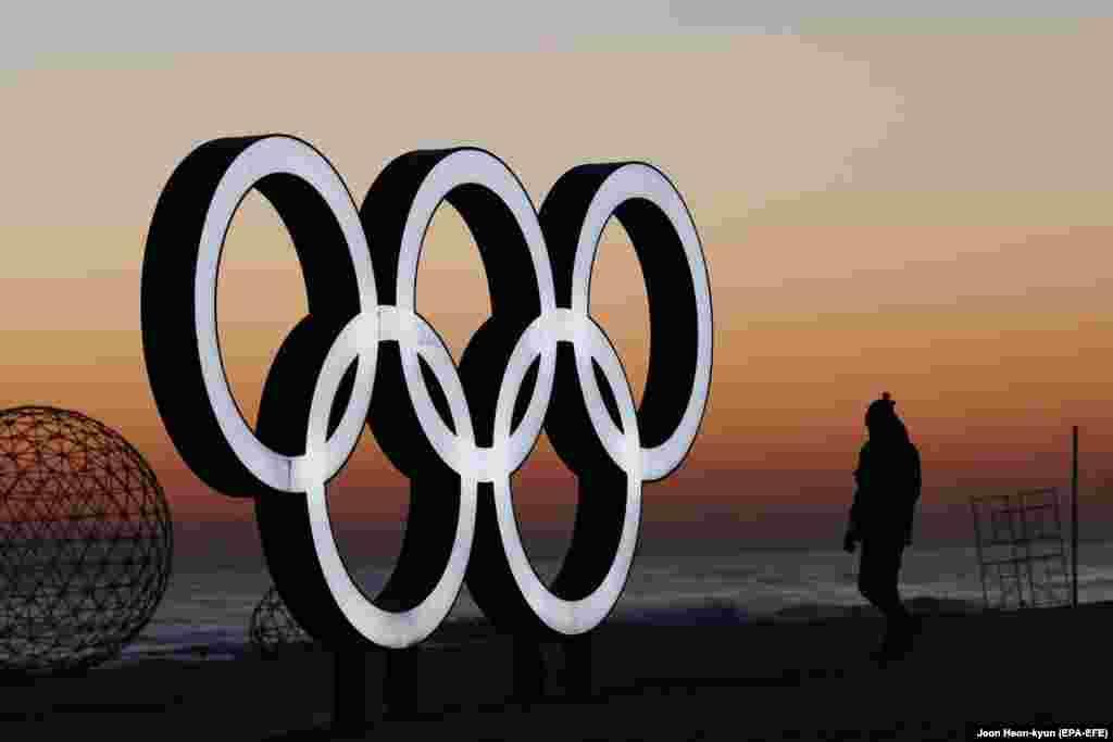 نشان المپیک در ساحل گیانگپو