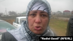 Tajikistan,District Rudaki,the people of Qushteppa union whom destroyed their houses by tajik authority,19Feb2011