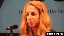 Adina Rosetti la întâlnirea cu publicul de la Festivalul Lecturii de autor de la Brno