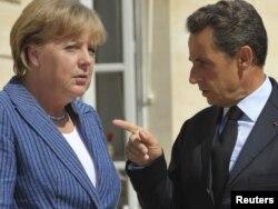 Merkel dhe Sarkozi (foto nga arkivi)