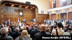 Konstitutivna sednica Skupštine Srbije 2016. godine