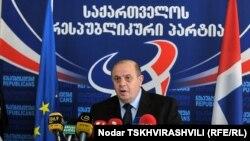 Один из лидеров Республиканской партии Грузии Леван Бердзенишвили
