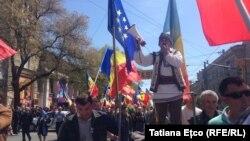Митинг в Кишиневе, 24 апреля 2016 года