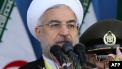 "Iranian President Hassan Rohani said Iran's ""nuclear technology is not up for negotiation."""