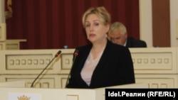 Министр государственного имущества Марий Эл Наталья Севостьянова
