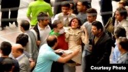 Povređeni učesnik nereda koji su izbili nakon objavljivanja izbornih rezultata
