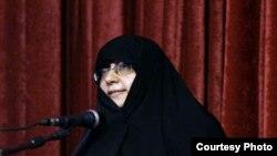 مریم مجتهدزاده، مشاور محمود احمدینژاد در کنفرانس سازمان ملل متحد از کارنامه ایران در زمینه حقوق زنان دفاع کرد.