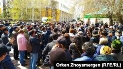 Акции протеста в Нур-Султане и Алматы