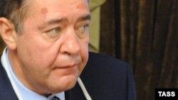 """Ресейдің бұрынғы баспасөз министрі, """"Газпром-медиа"""" холдингінің басшысы Михаил Лесин."""