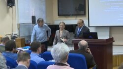 Putin's Purported Daughter Defends Dissertation