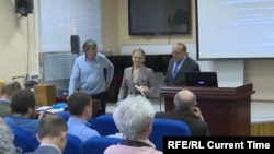 Katerina Tikhonova defends her dissertation at Moscow State University on May 24.