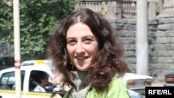 Armenia -- Mariam Sukhudian, a prominent environmenalist and civic activist, undated.