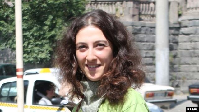 Armenia -- Mariam Sukhudian, a prominent environmenalist and civic activist, undated.