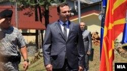Архивска фотографија- Министерот за внатрешни работи Оливер Спасовски