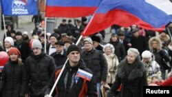 Демонстрация в Красноярске