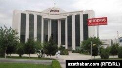 """""""Yimpaş"""" biznes mərkəzi. Aşqabat, 2016"""