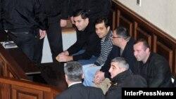 ირაკლი ოქრუაშვილი სასამართლოზე, 2012 წლის 20 ნოემბერი