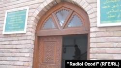 """Хўжанддаги """"Имом Аъзам"""" мадрасаси."""