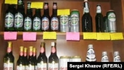 Самара - дети пьют пиво