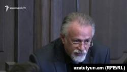 Ваагн Вермишян на заседании правительства, Ереван, 21 марта 2019 г․