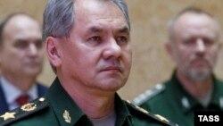 Rusiya müdafiə naziri Sergei Shoigu