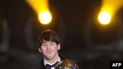 Лионель Месси удостаивается награды второй год подряд