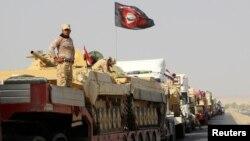 Колона іракських сил прямує до околиць Мосула, 12 жовтня 2016 року