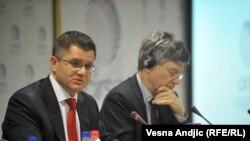 Vuk Jeremić i Džefri Saks