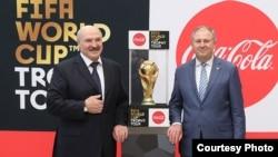 Alyaksandr Lukașenka cu nou premier Rumas