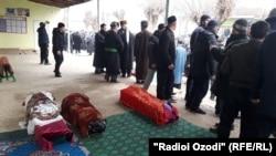 Shuhrat Ulfatovun ailə üzvlərinin dəfn mərasimi