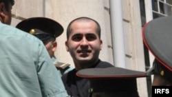 Арестованный активист Бахтияр Гаджиев, Баку, 20 апреля 2011