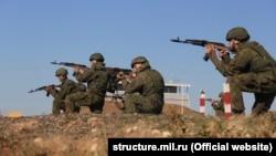 Российские военные на полигоне «Опук», архивное фото