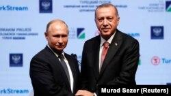 """Путин ва Эрдоған охирги марта 1 декабрь куни Буэнос-Айресда """"катта йигирмалик"""" саммитида учрашган эди."""