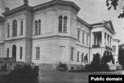 Палац Горватаў на фотаздымку пач. XX ст.