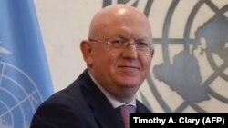 Василий Небензя, Ресейдің БҰҰ-дағы елшісі.