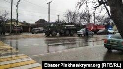 Авария с военным бензовозом, Симферополь, 15 января 2018 год