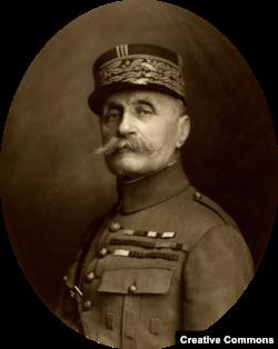 Фердинанд Фош, маршал Франции, командующий войсками союзников на Западном фронте в конце Первой мировой войны