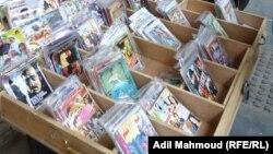 كتب في أقراص مدمجة تباع على رصيف شارع ببغداد