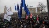 Митинг оппозиции в Москве. 2011 год.