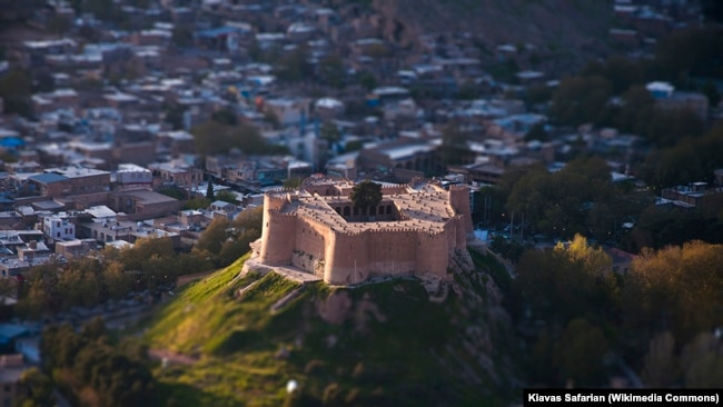 Falak ol-Aflak Castle is a situated on the top of a large hill with the same name within the city of Khorramabad, the regional capital of Lorestan province, Iran.